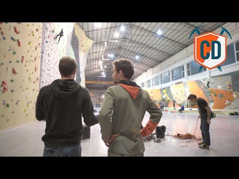 This Old Submarine Factory Became A Huge Climbing Wall | Climbing Daily Ep.1230