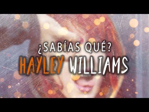 ¿Sabías qué?   Hayley Williams