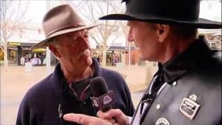 Sam Newman in Shepparton (The Footy Show - Street Talk)