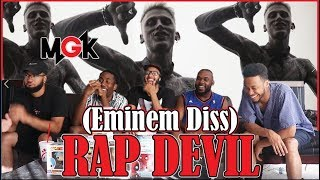 Machine Gun Kelly - Rap Devil (Eminem Diss) REACTION/REVIEW