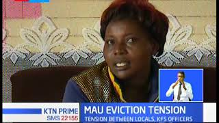 Tensions rising between residents of Mau forest and Kenya Forest Service officers over eviction