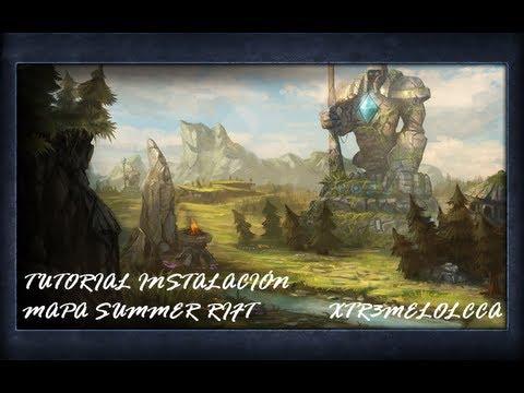 League Of Legends | Tutorial Instalación Mapa Summer Rift