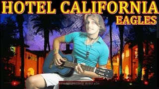 Eagles - Hotel California [FINGERSTYLE Guitar solo] Acoustic guitar solo cover