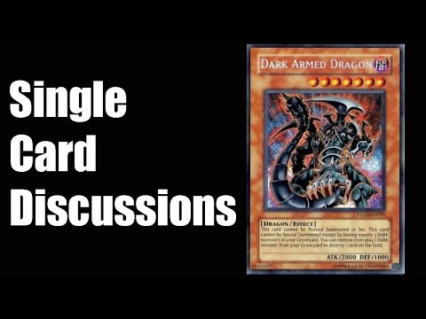 Single Card Discussions: Dark Armed Dragon