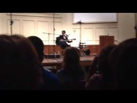 Levi Miller singing These Hard Times by Needtobreathe.