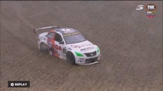Aussie Racing Cars Championship 2017. Race 3 Symmons Plains Raceway. Battle for Win