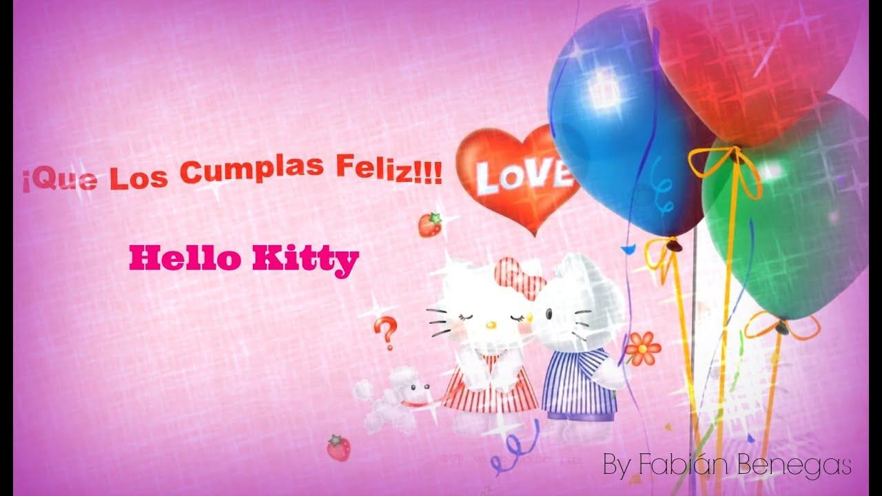Hello Kitty Feliz Cumpleaos  YouTube