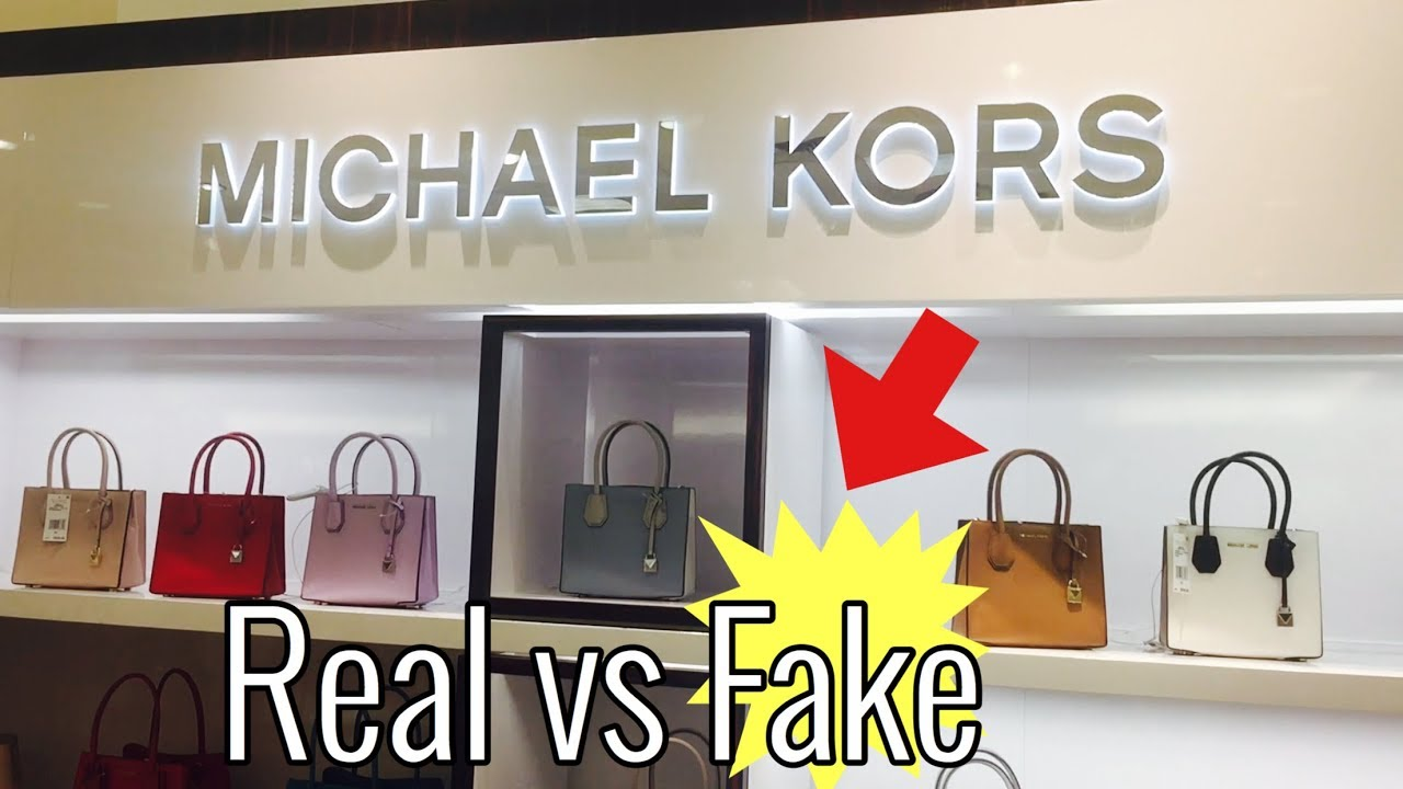 HOW TO SPOT A FAKE MK BAG   BEFORE YOU BUY A MICHAEL KORS HANDGBAG ... 365641dc19
