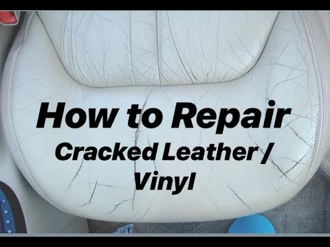 How to Repair Leather Cracks and scuffs with Luxury Leather Repairs Crack/Crease Repair Kit