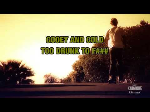 Too Drunk To F### in the style of Dead Kennedys | Karaoke with Lyrics