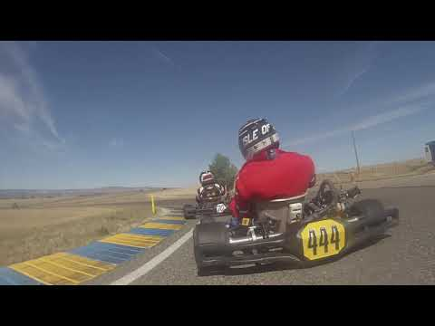 Colorado Karting Tour 2019 Round 3 - Grand Junction Motor Speedway LO206 Heavy Heat 2
