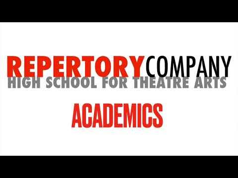 Academics at Repertory Company High School for Theatre Arts