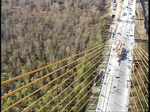 Longest Cable-Stayed Bridge in Western Hemisphere