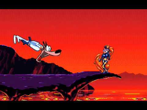 Earthworm Jim in game and cutscene animation
