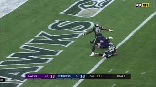 Lamar Jackson 8 yards touchdown run vs Seahawks   NFL