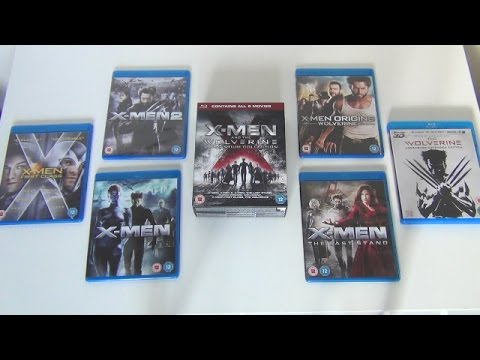 x men the wolverine adamantium collection blu ray. Black Bedroom Furniture Sets. Home Design Ideas