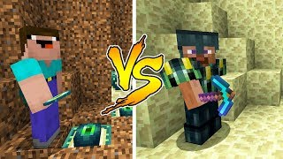 MINECRAFT - NOOB VS PRO: ENDER ARMOR BATTLE in Minecraft