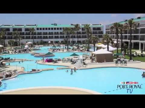 The Port Royal Pool in Port Aransas, Texas is Complete!
