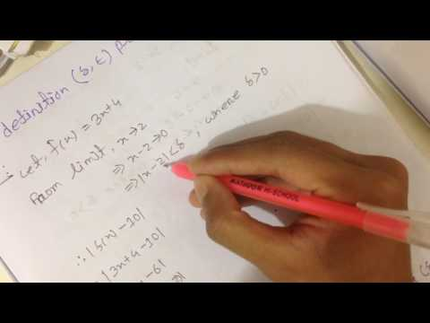 CSE-115|| LIMIT(Differential Calculus)||Bangladesh Institute of Science and Technology