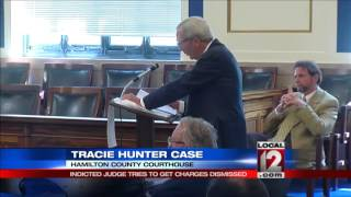 Indicted judge tries to get charges dismissed