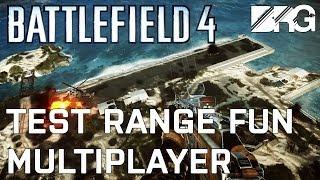Battlefield 4 Test Range Fun - Multiplayer Mode