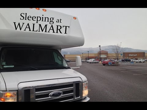 RV Travel Tips - Sleeping at Walmart