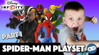 Disney Infinity Spiderman Playset Gameplay Part 1