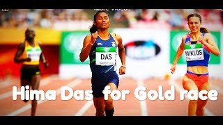 Hima Das   1st Indian Made History 400 Mtrs    IAAF World U20 in Finland.
