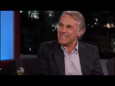Christoph Waltz speaks about American food and their cinema habits