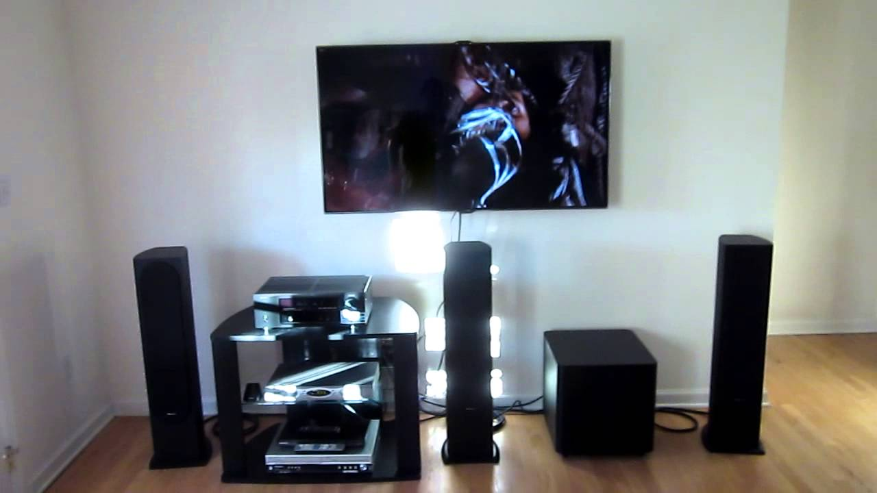 31 Sound Setup Denon 1613  Pioneer SPFS52LRx3