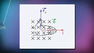 Обнаружение магнитного поля по его действию на электрический ток  Правило левой руки