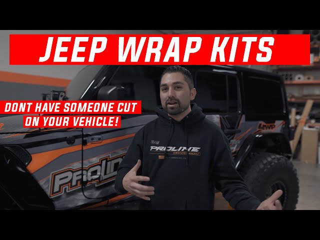 Proline Wraps- Jeep Wrap Kits