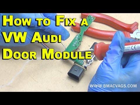 How to Fix a VW Door Lock Module PERMANENTLY