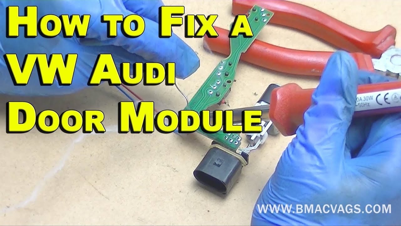 medium resolution of how to fix a vw door lock module permanently