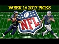NFL Week 16 Predictions Podcast Live - Us vs You! Who Has The Best Picks?