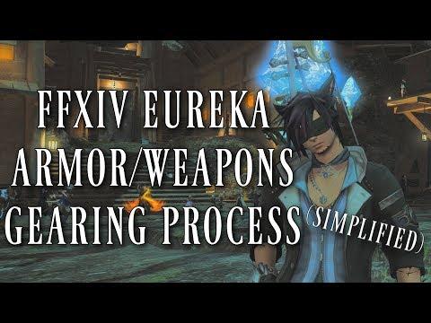 FFXIV: Eureka Armor/Weapon Simplified & Antiquated Gear (Final Fantasy XIV Patch 4.25)