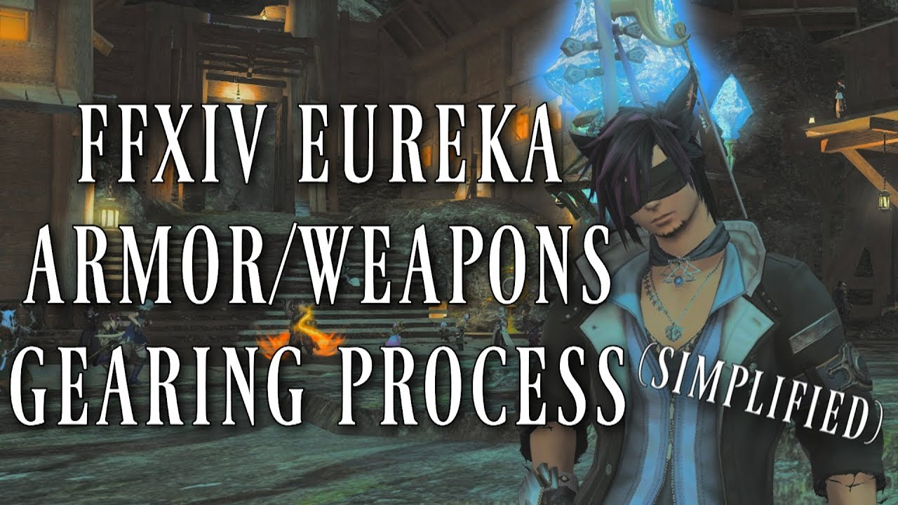 FFXIV: Eureka Armor/Weapon Simplified & Antiquated Gear (Final Fantasy XIV  Patch 4 25)
