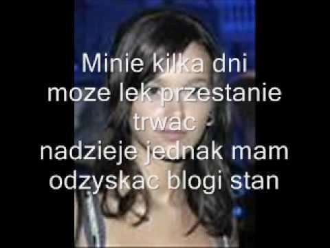 Monika Brodka Dziewczyna mojego chłopaka karaoke   słowa