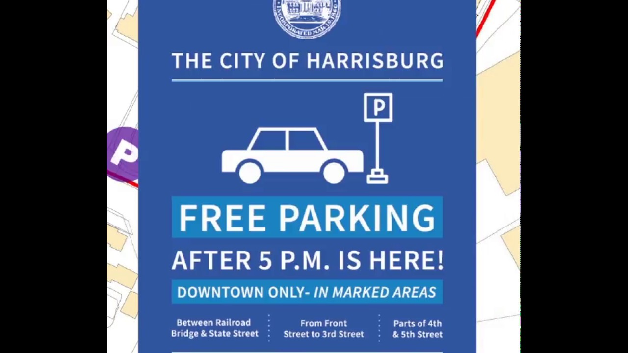 Parking City Of Harrisburg