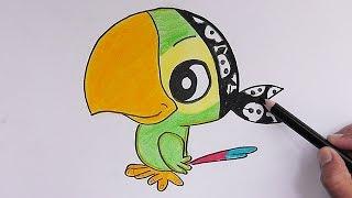 Como dibujar a Skully (Jake y los Piratas del nunca jamas) - How to draw Skully