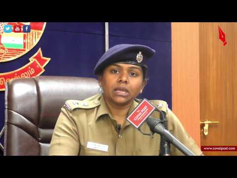 RV Ramya Bharathi ,Superintendent of Police ,Coimbatore District speaks to Covai Post