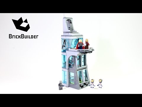 Lego Super Heroes 76038 Attack on Avengers Tower - Lego Speed Build