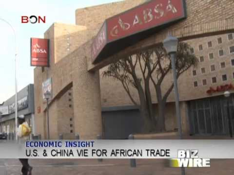 U.S. & China vie for African trade - Biz Wire - July 3,2013 - BONTV China