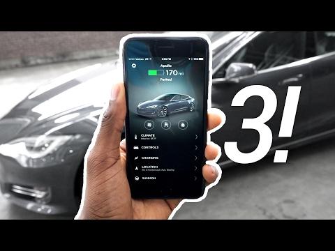 Tesla P100D App v3.0 Review!