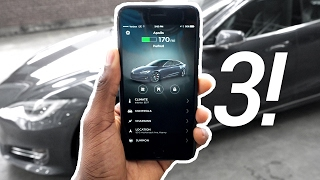 Tesla's mobile app got a fresh coat of paint to make car control prettier and faster in v3.0! The Tesla P100D playlist: ...