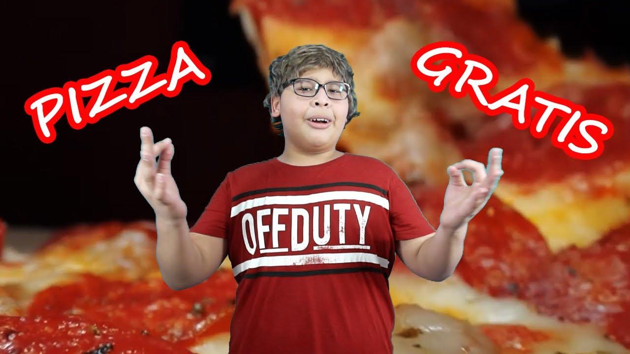 PIZZA GRATISSSSS