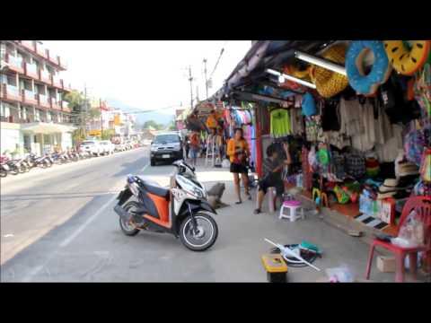 Koh Chang Thailand - White Sand Beach Street