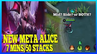 Alice Guide 2 | Stack Faster with This New Alice Role | Master the Basics | Alice Gameplay | MLBB
