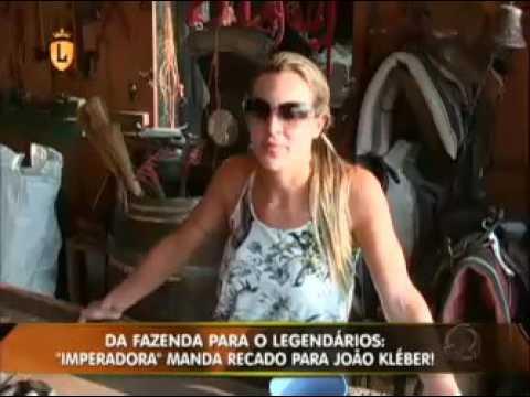 """Exclusivo: Joana """"Imperadora"""" manda depoimento para João Kleber no Legendários  #arquivolegendários"""