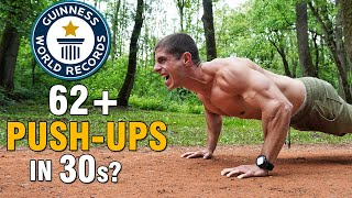 Is it possible to do 62+ push-ups in 30 seconds? - Da li je moguće uraditi 62+ skleka za 30s?